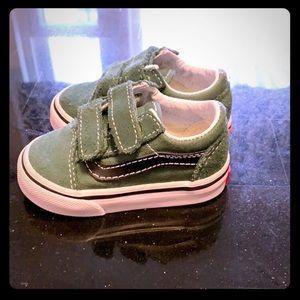 Baby Boy Vans Sneakers - size toddler 3